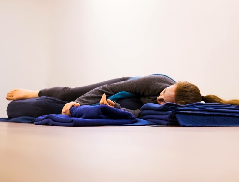 Restorative Yoga Retreat with Karla Brodie and Neal Ghoshal