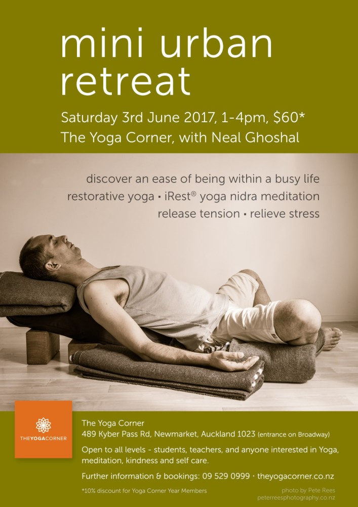 Mini Urban Retreat, with Neal Ghoshal