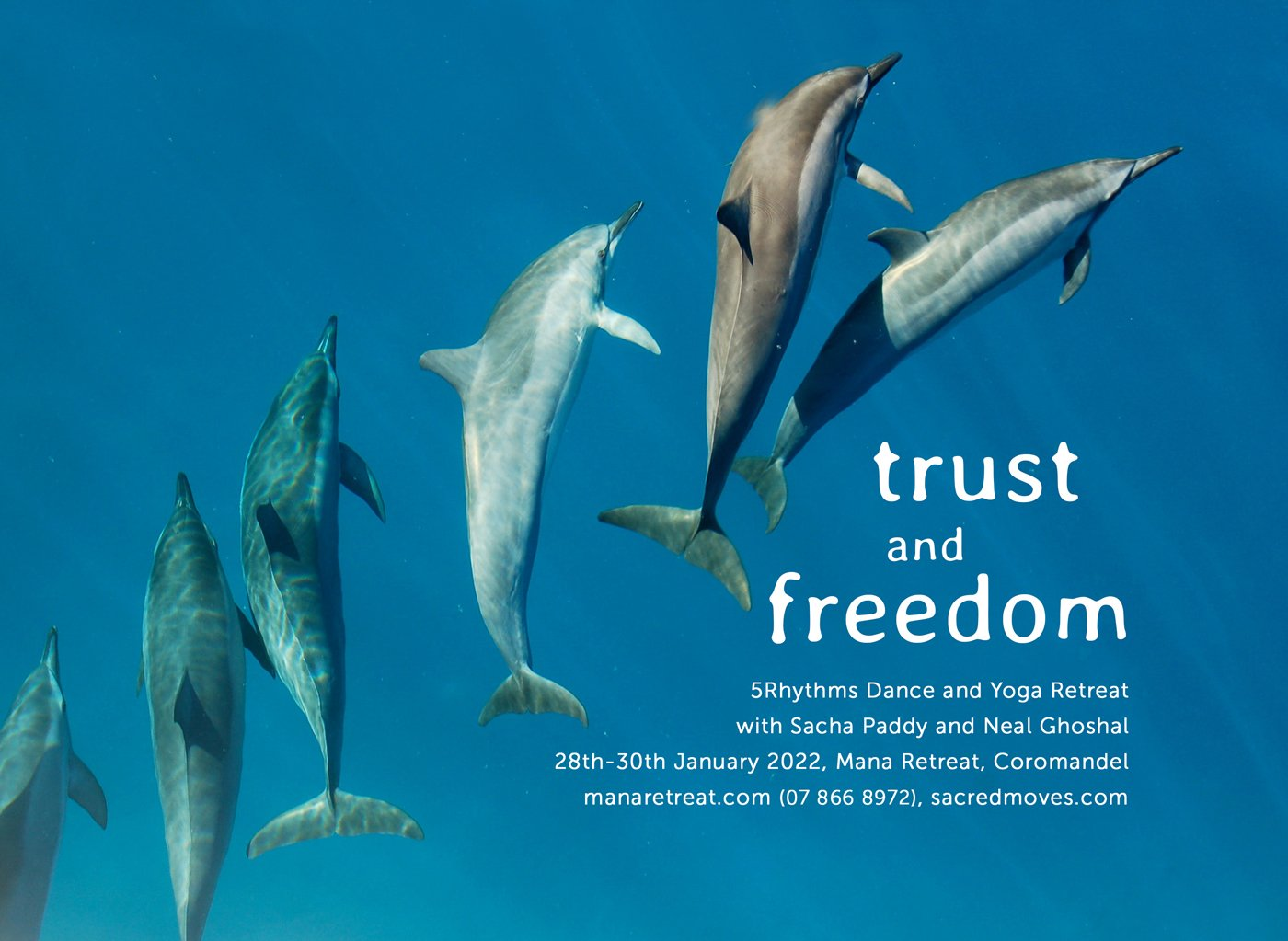 Trust and Freedom, Dance and Yoga Retreat 2022