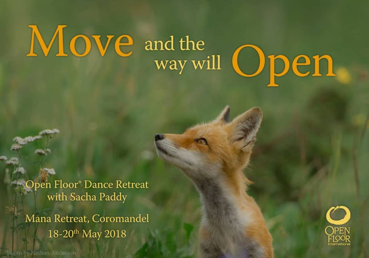 Move and the Way Will Open with Sacha Paddy